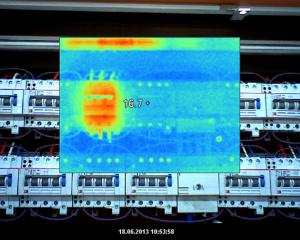 Elektro-Thermografie im präventiven Unterhalt eines Geschäftshauses