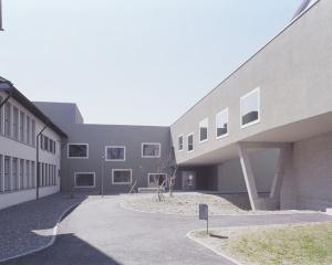 Neubau Gebäude «Alberto», Renovation und Erweiterung Schulhaus Schanz, Rüti